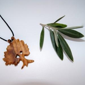 Collier Arbre de Provence – Olivier – Mixte