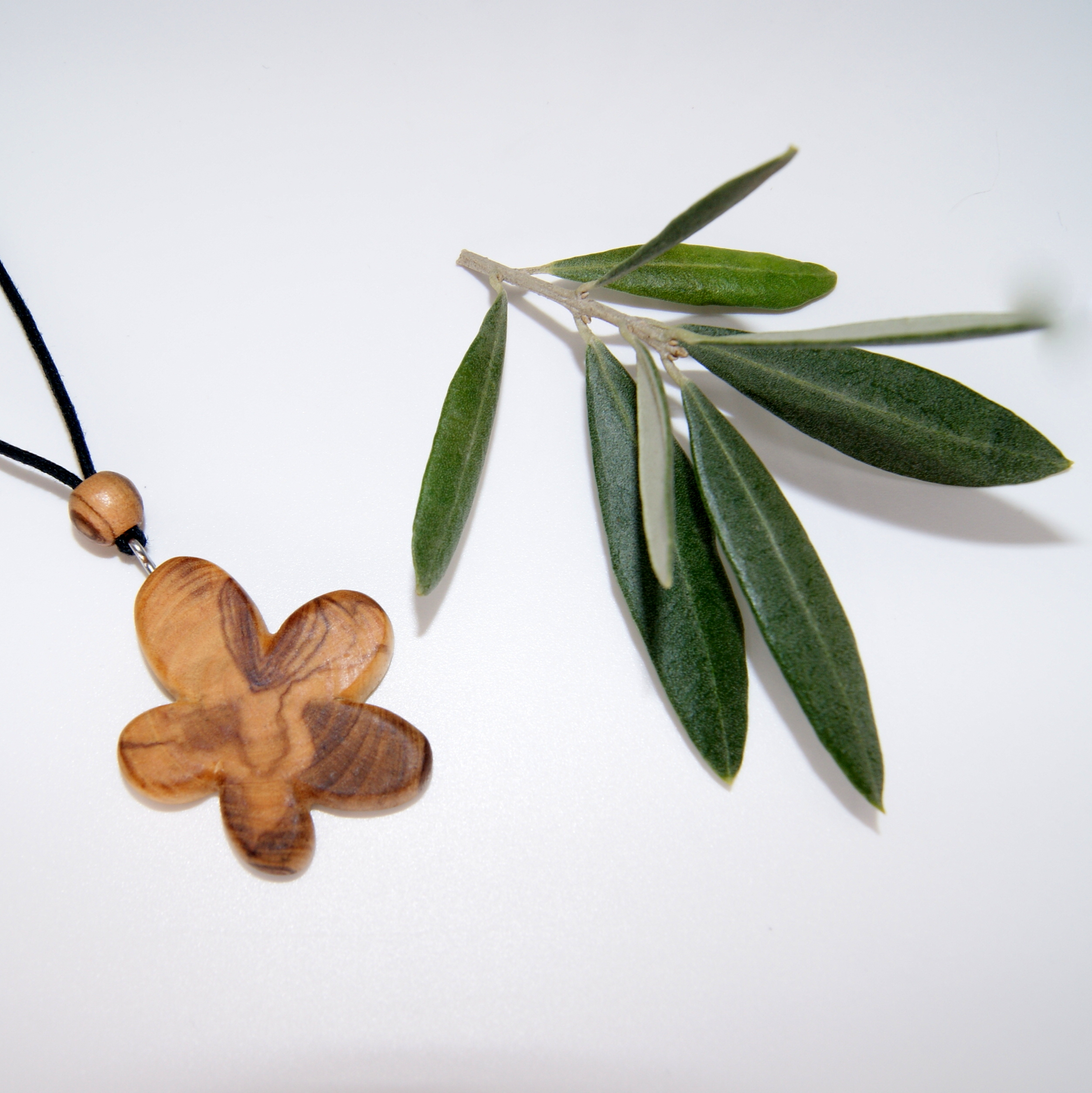 Collier forme Sauvage 3 - Olivier - Mixte