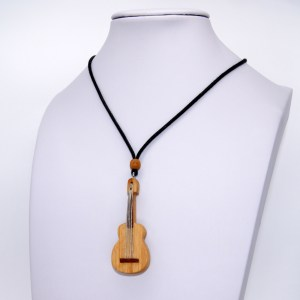 Collier Guitare miniature – Olivier – Mixte