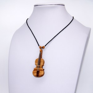 Collier Violon miniature – Olivier – Mixte