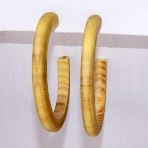 Créoles en Micocoulier – Ø 5.5 cm