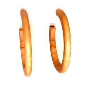 Créoles en Troène – Ø 6.2 cm