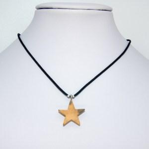 Collier Petite étoile doré – Buis