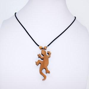 Collier gecko – Cerisier