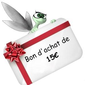 Carte cadeau de 15 Euros