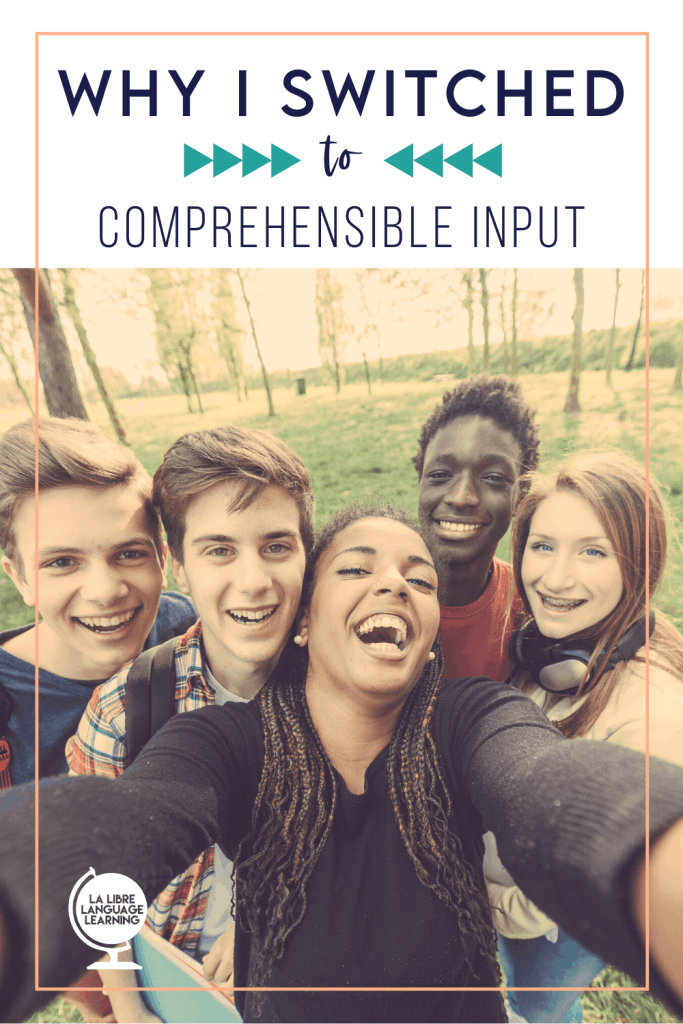 why i teach with comprehensible input strategies