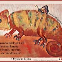 Las postales de Mónica: Odysséas Elytis