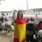 victoria española en los campos elíseos