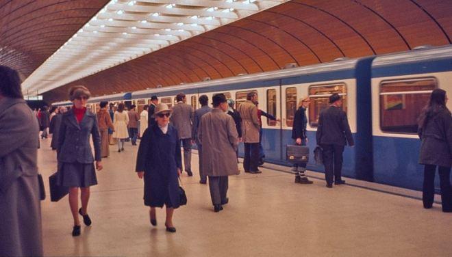Marienplatz en 1974