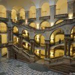 Rincones de Múnich – El atrio del Palacio de Justicia