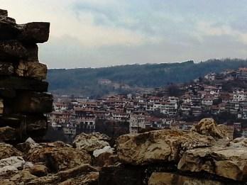 Veliko Tarnovo desde el castillo