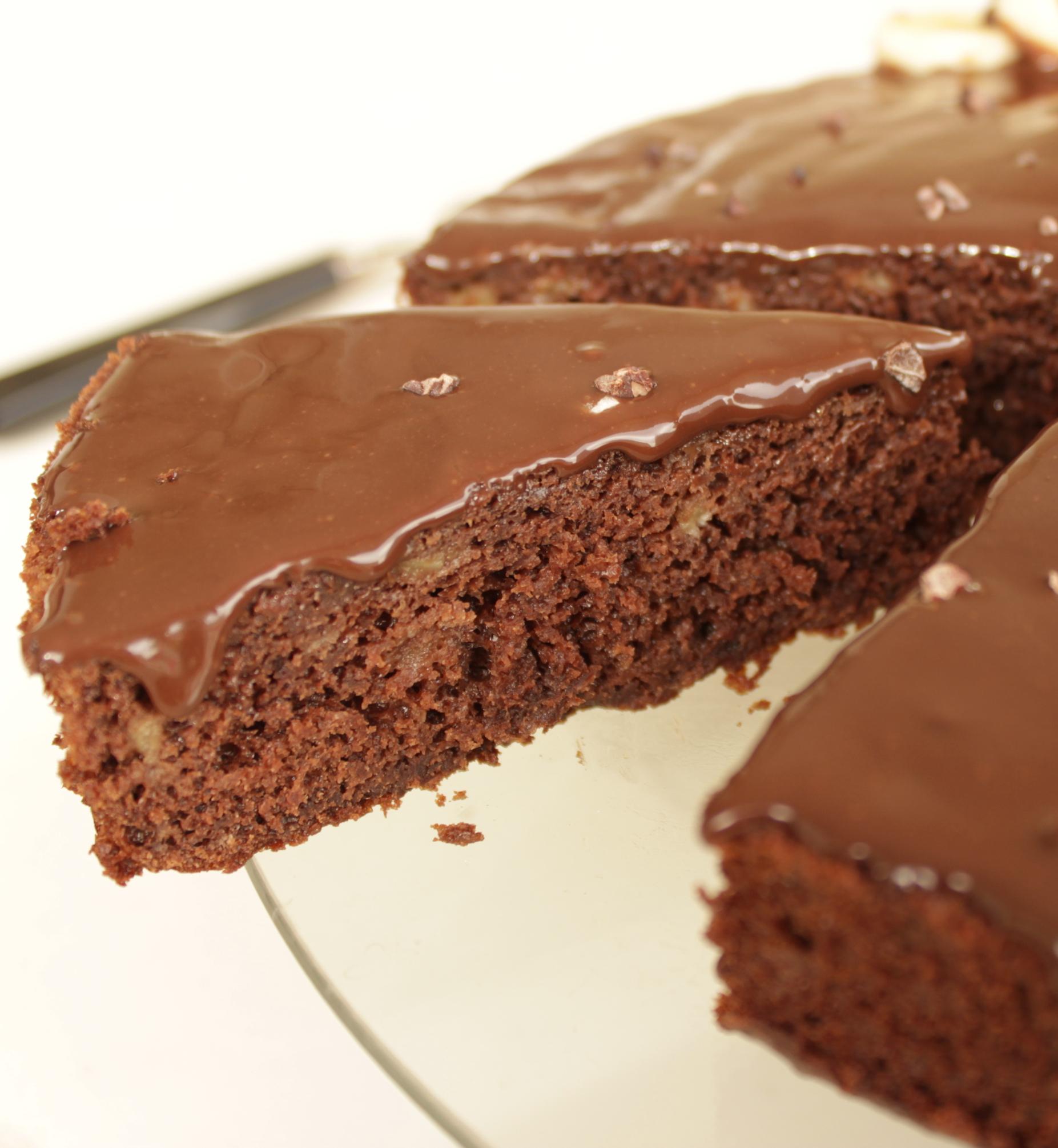Gateau au chocolat moelleux et pas sec
