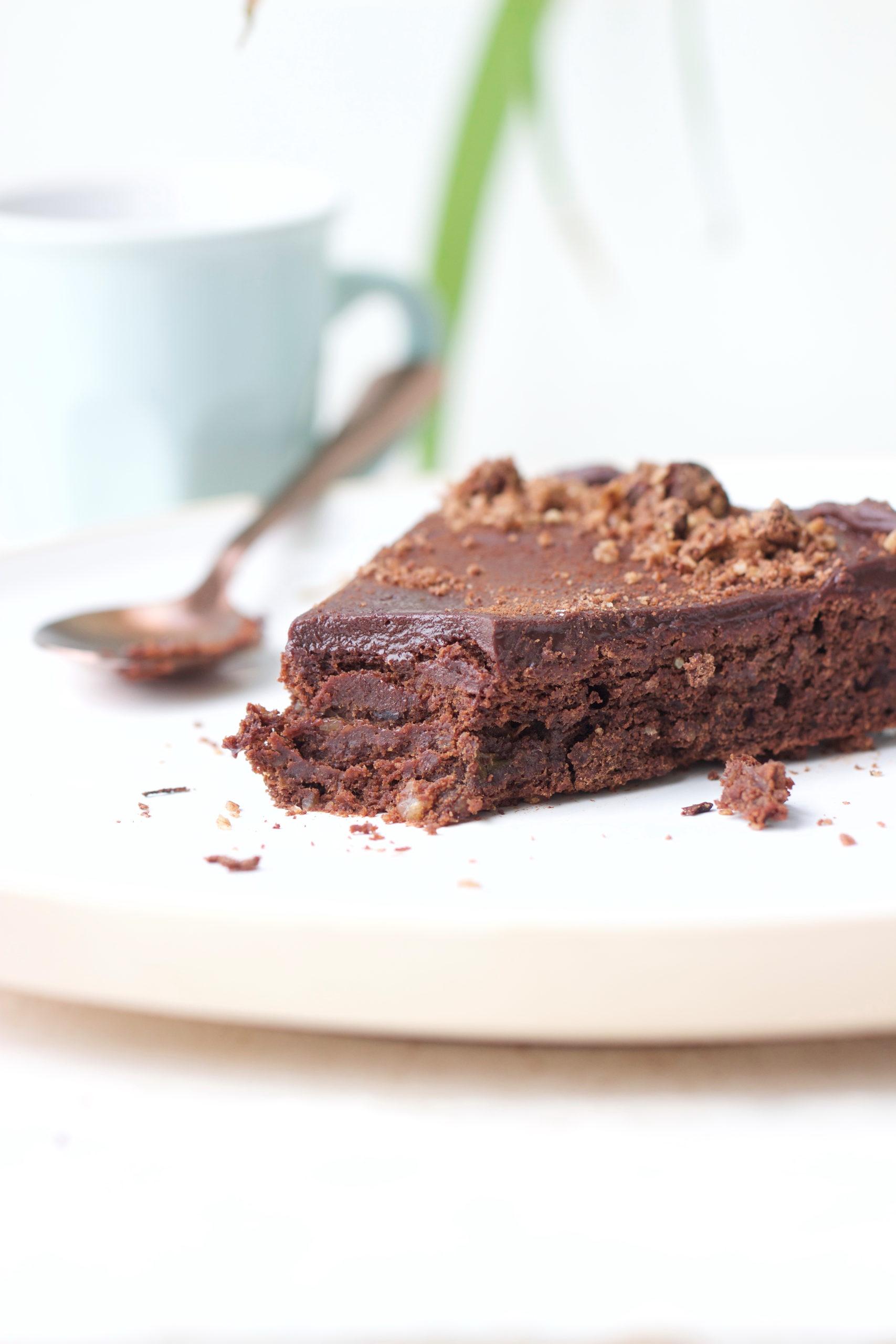 Moelleux chocolat, sans oeuf, sans sucre, sans farine, sans beurre