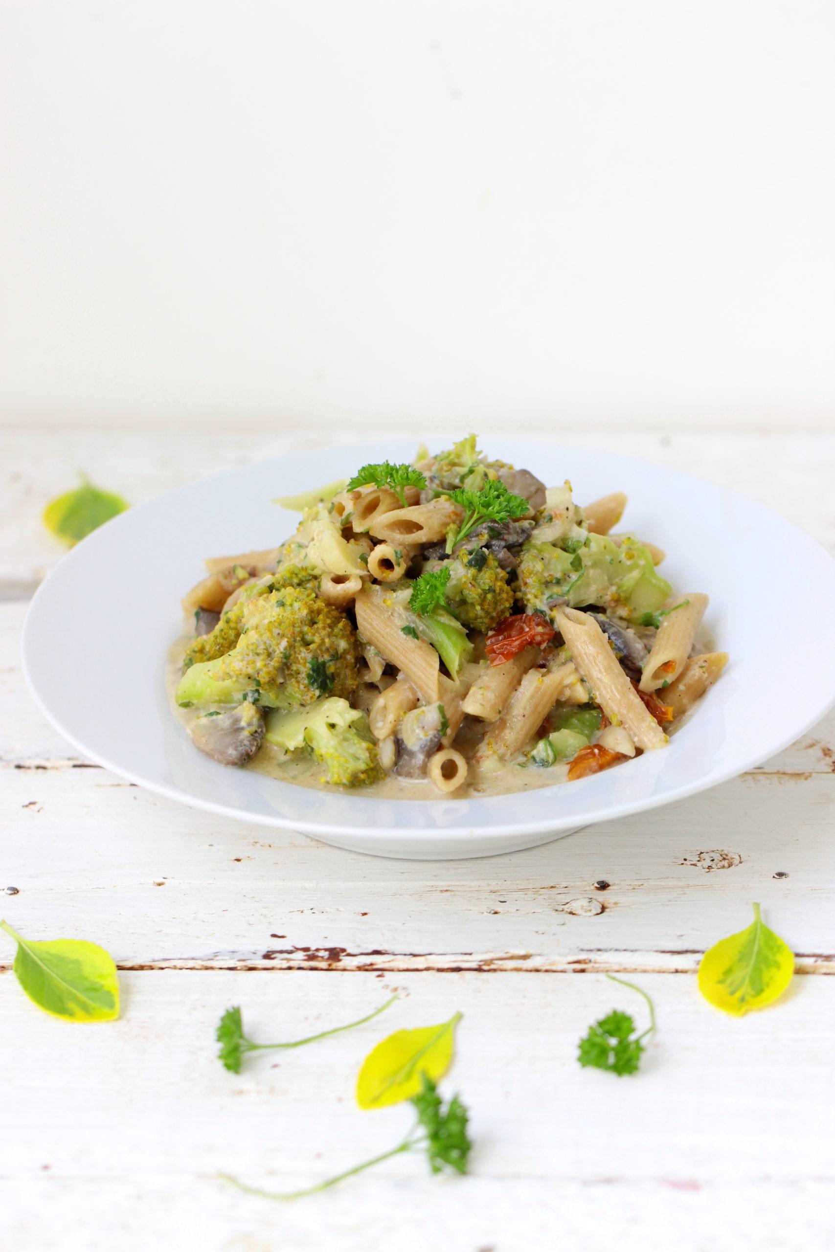 One pan pasta aux légumes