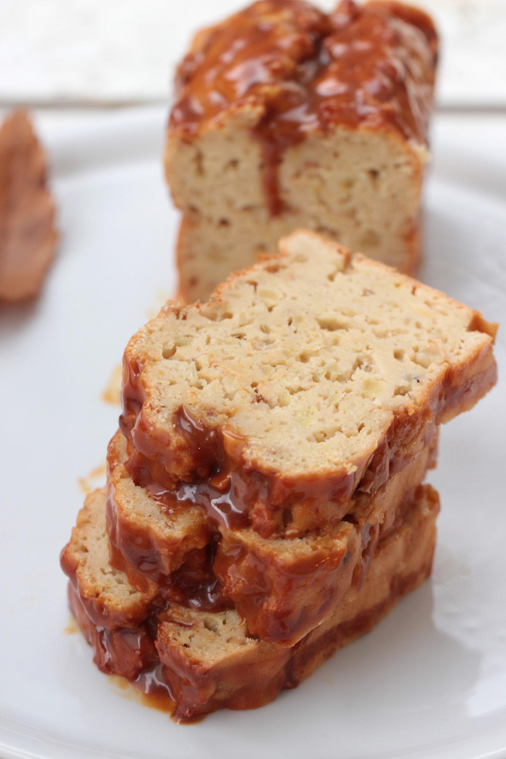 Clafouticake pomme cajou