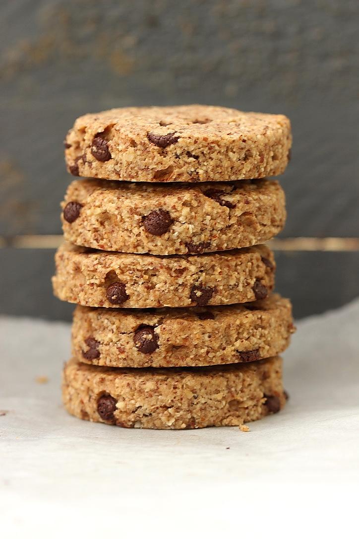 Biscuits amande & avoine  (sans farine ni sucre)