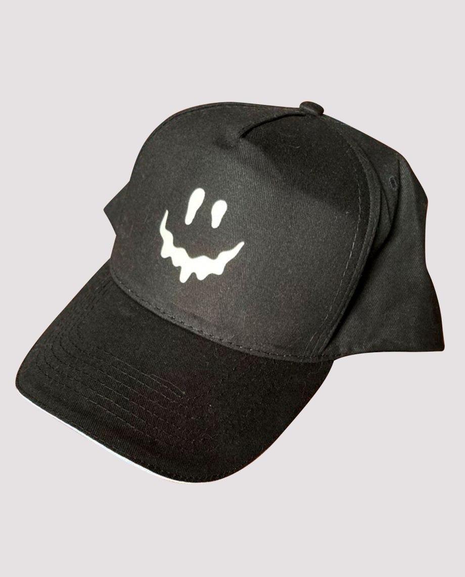 la-ligne-shop-casquette-noir-smiley-retro-eclairant