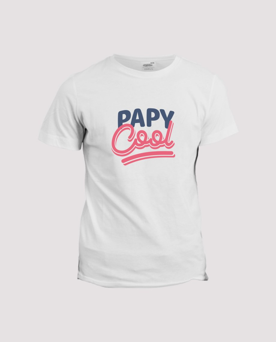 T-shirt-homme-papy-cool