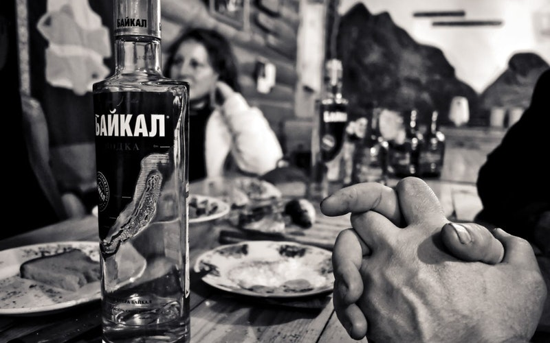 vodka originated in russia and is very popular in india