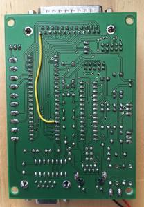 Strobe wire for AVR NET IO board