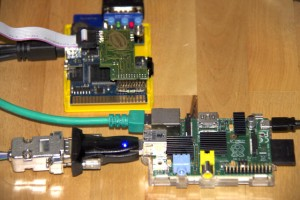 TC64 with SilverSurfer attached to Raspi