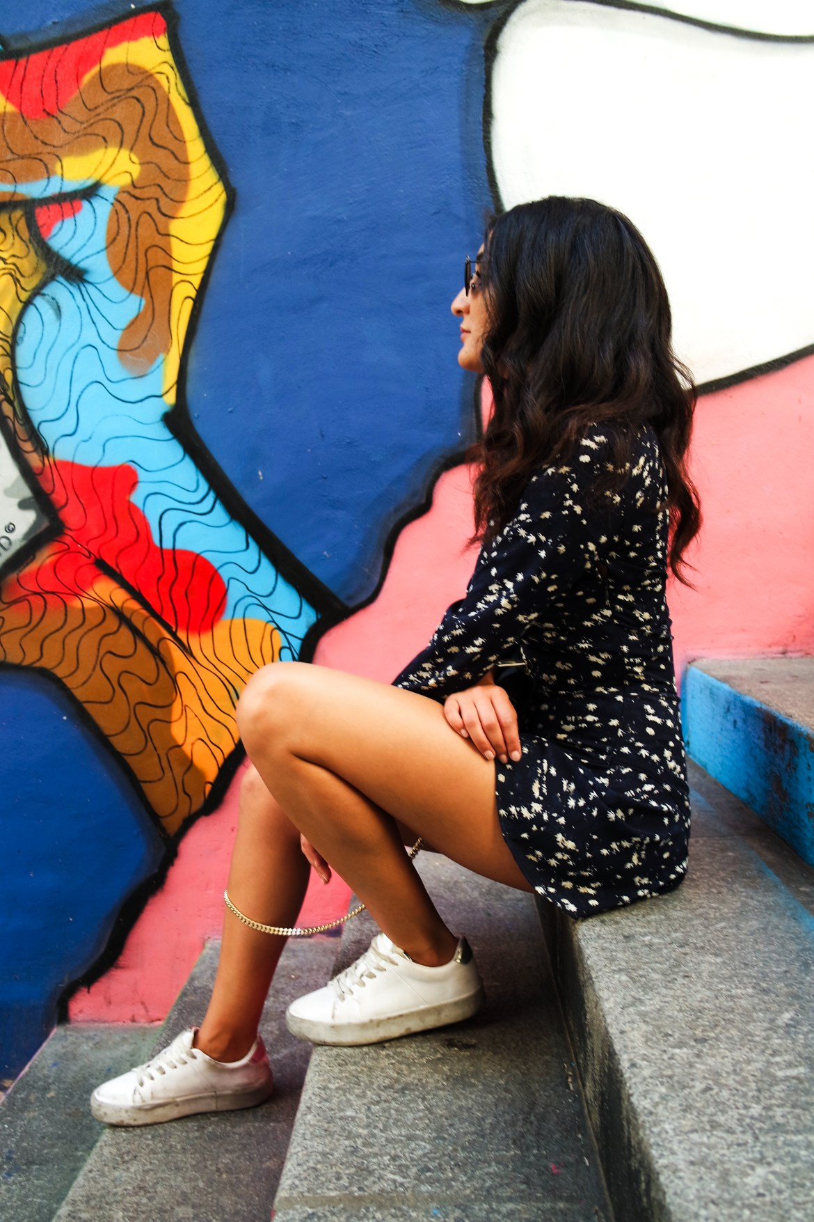 The girl in the printed jumpsuit - Lallasmind Belgian Blogger