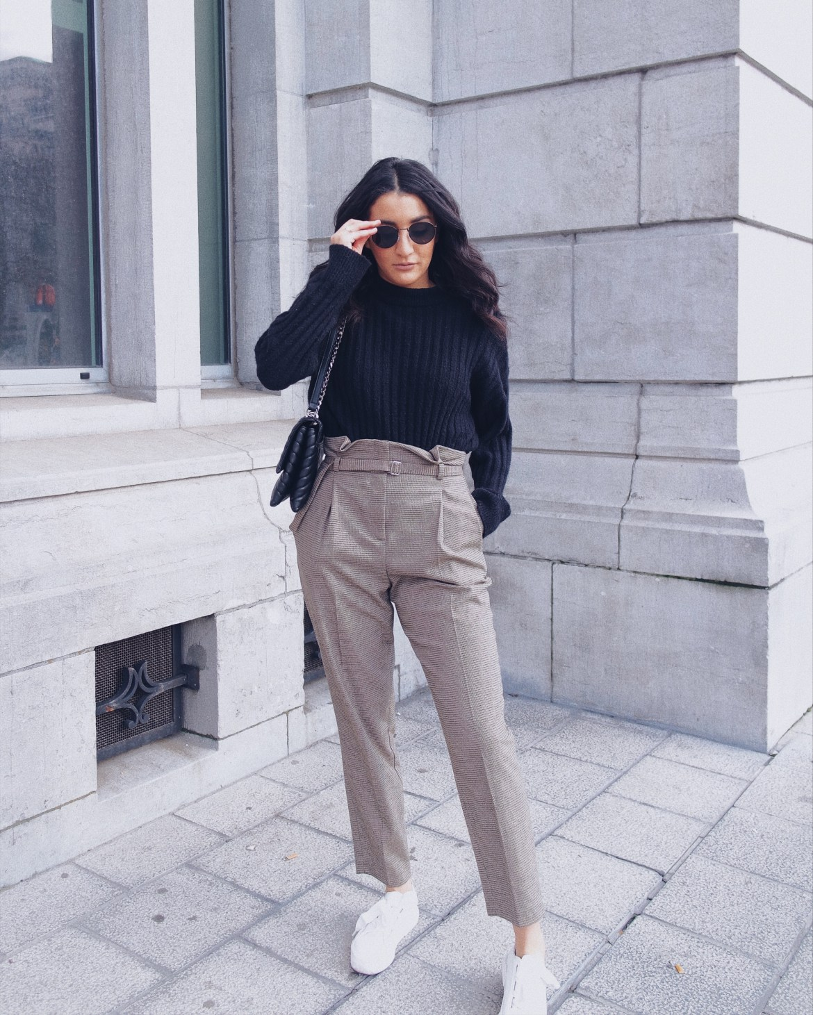 Classic outfit, intern Belgian blogger - Lallasmind