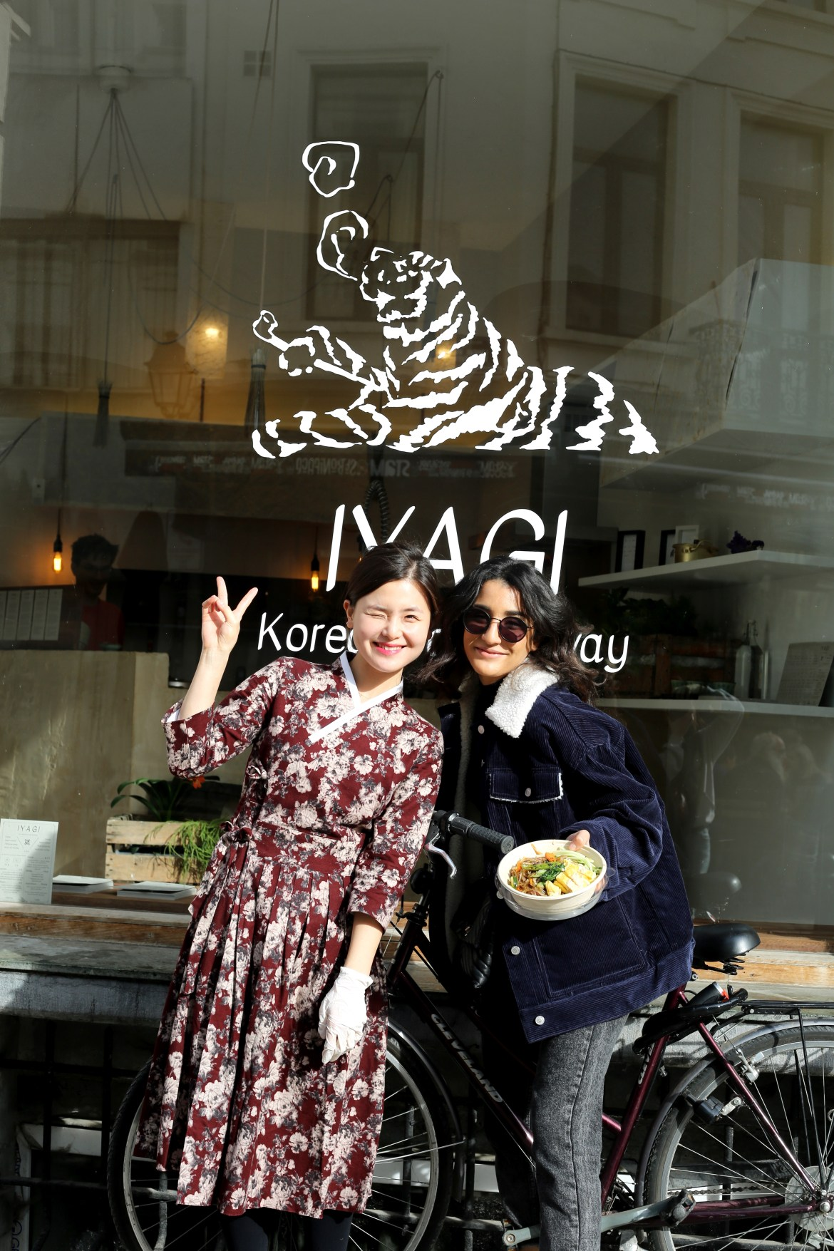 Iyagi, Korean take away, Bruxelles - come-back Lallasmind