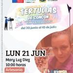 Poster Tertulias de Concón lallavemagica.cl