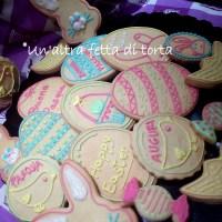 Biscottini di Pasqua decorati con ghiaccia reale: Easter cookies!