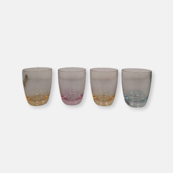 verres multicolores