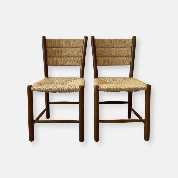 chaises paillées