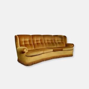 Canapé en velours
