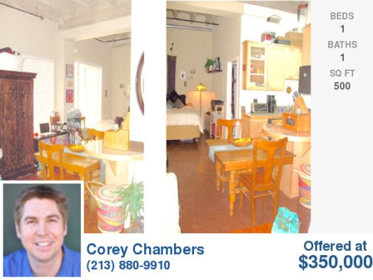 Downtown Los Angeles Pershing Square Loft -- L.A. Loft Blog Exclusive