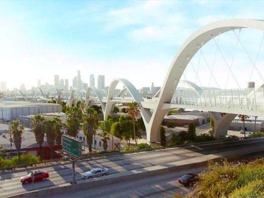 6th Street Viaduct Bridge Downtown Los Angeles L.A. River