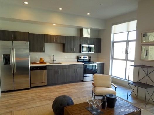 E on Grand Interior Kitchen
