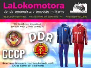 banner chandal ddr cccp