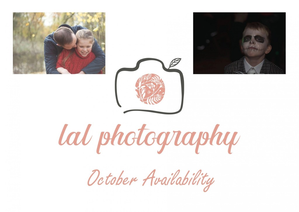 October Availability