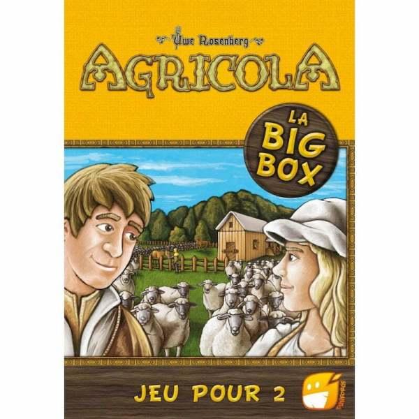 Agricola 2 joueurs - Big Box Les Fermiers de la Lande