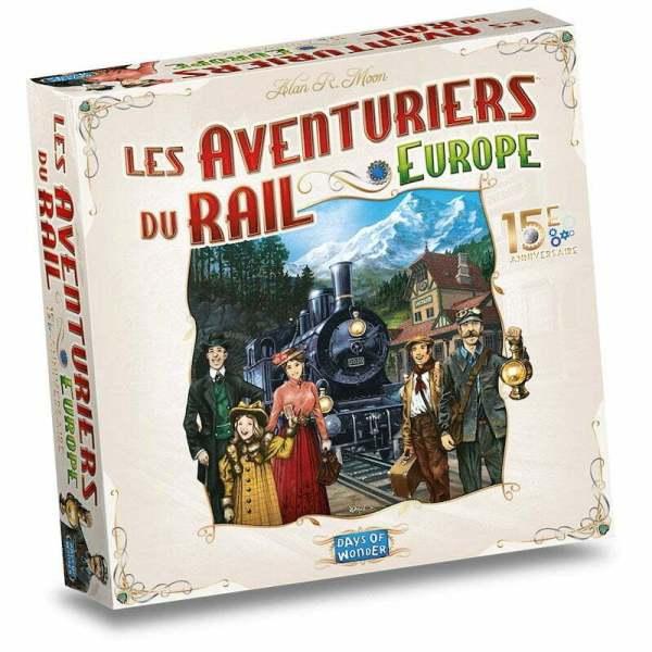 Aventuriers du Rail Europe 15e Anniversaire
