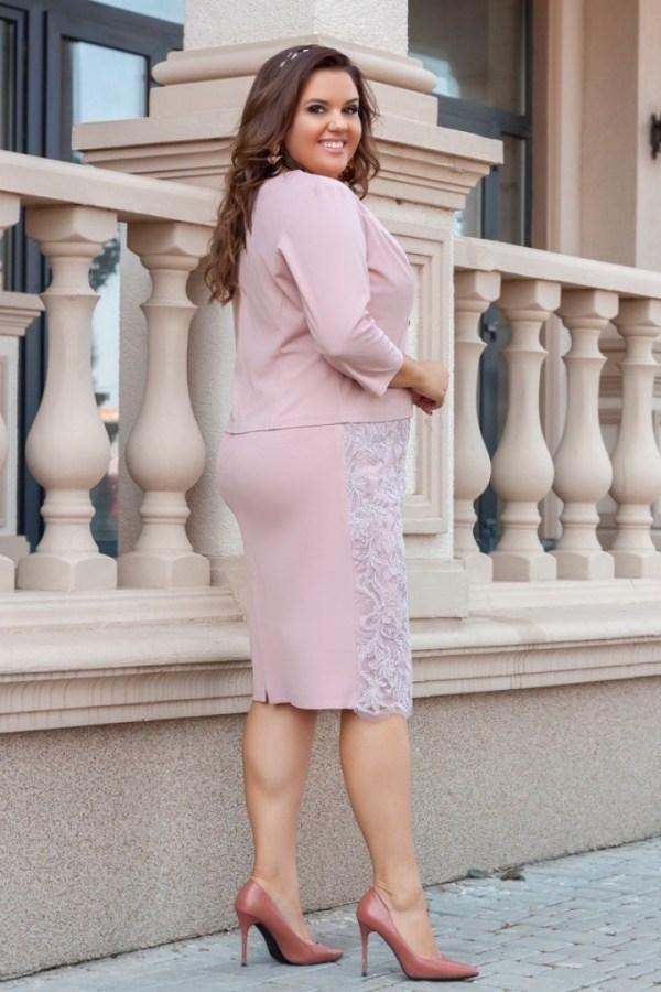 Женский костюм платье с пиджаком AO-1927A480