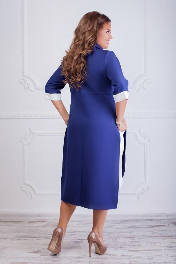 Модное платье-рубашка SIM-S8275