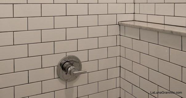 Spacious showers