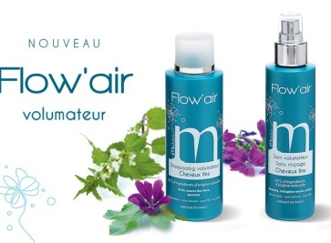 concours Mulato Flow'Air gamme volumatrice cheveux fin