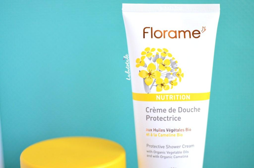 florame nutrition baume corps visage crème douche bio