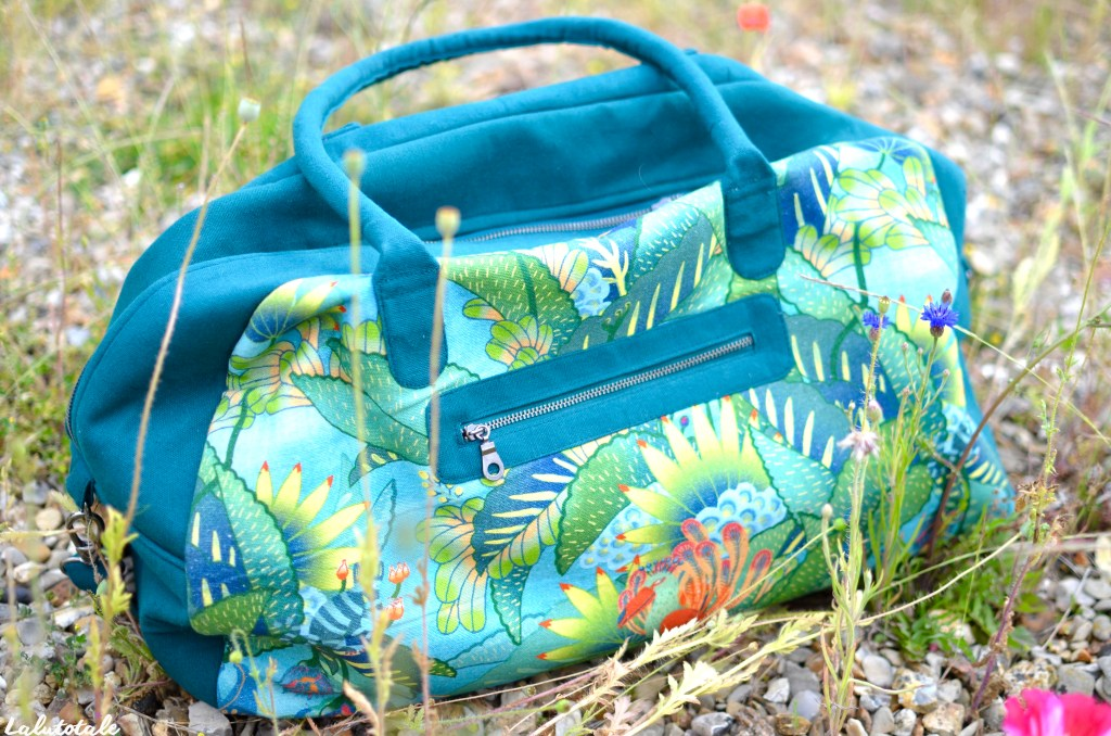 sac weekend Nature & Découvertes Oniric Tropic