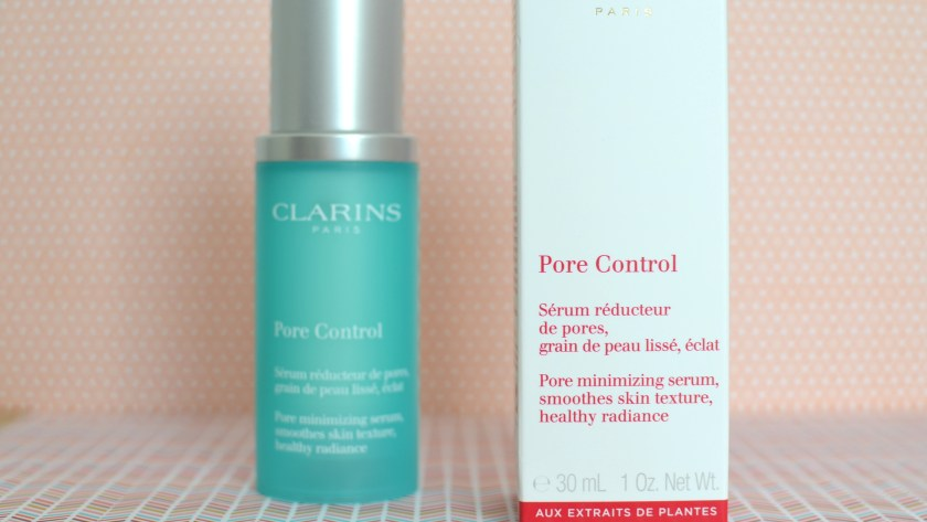 ( CLARINS ) La nouveauté Pore Control, le sérum qui arrive à bon pore ?