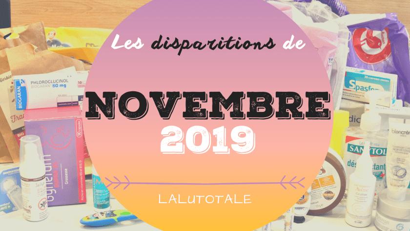 ✞ Les disparitions de Novembre 2019 ✞