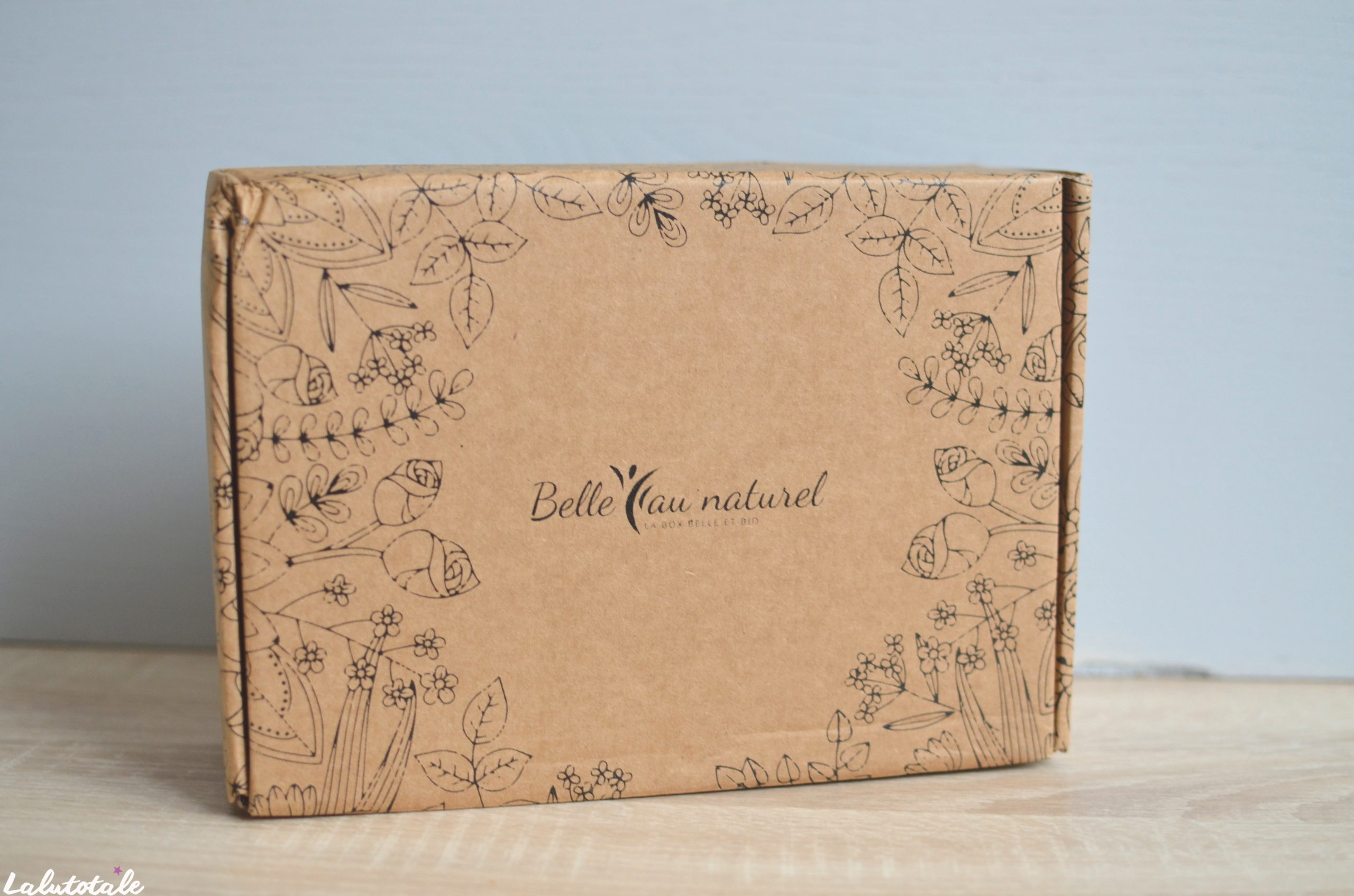 belle naturel box beaute janvier 2020 haul