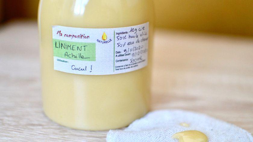 ( DIY ) Ma recette du liniment oléo-calcaire, facile et ultrarapide !